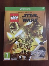 LEGO STAR WARS DESPERTAR DE LA FUERZA XBOX ONE DELUXE EDITION NUEVO NEW SEALED