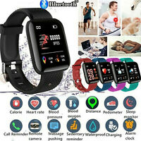 Smart Watch Band Sport Activity Tracker Fitness Waterproof for Kids Android iOS