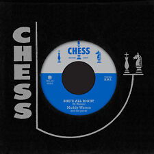 """MUDDY WATERS She's All Right 7"""" Chess TMR jimmy rogers little walter Elgin Evans"""