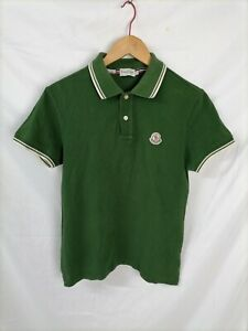 MONCLER SLIM FIT Polo Maniche Corte Maglia T-Shirt Tg S Uomo Man