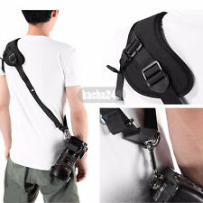 Focus F-1 Quick Rapid Shoulder Sling Belt Neck Strap For Camera DSLR SLR Black