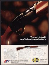 1991 Mossberg 5500 Mk Ii Shotgun Ad Gun Advertising Won't shoot your budget