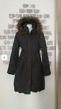 Ladies Hooded Long Bubble Hem Coat Size 10 ATMOSPHERE