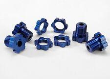 Traxxas Radmitnehmer 17mm gesplintet Revo blau - 5353X