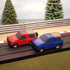Micro Scalextric Pair Of 1:64 Cars - Frontera Sport 4x4 Jeep Off Road