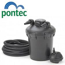 Pontec Pond Filter PondoPress Pressurized Filter Pump & UV Steriliser All in One