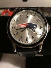 Game Time NFL Men's New England Patriots Agent  Watch, Black Never Used