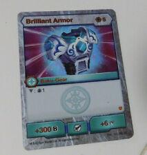 BAKUGAN Armored Alliance BRILLIANT ARMOR Baku-Gear Card +300B 103_SR_AV