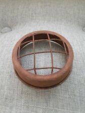 Rusty Metal Flower Frog Mason Jar Lid-Farmhouse, Cottage- Wedding- Primitive