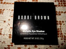 NIB Bobbi Brown Metallic Eye Shadow  Black Charcoal   0.1 oz/2.8 g w/Tags