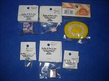 Miniature accessories: lot of 6 baby items, 1:12 scale, Nib, lot #3
