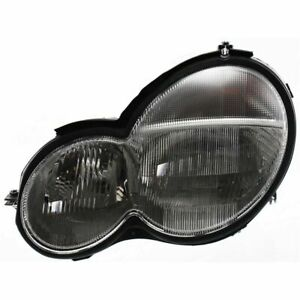 New Driver Side Head Lamp Assembly Fits Mercedes-Benz C230 Coupe Model MB2502110
