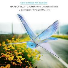 TECHBOY 98007 + 2.4GHz Remote Control Authentic E-Bird Flying Bird RC Toys Blue