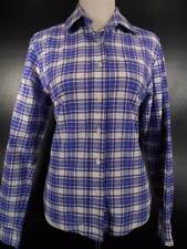 Beautiful Women's Small Rockies Multi-Color Plaid Long Sleeve Button Blouse GUC