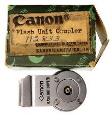 Canon Rangefinder RF Flash Unit Coupler for 7,7S,7SZ #3 .......... Minty w/Box