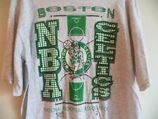 Vintage 90s BOSTON CELTICS Official Fan NBA Basketball Team Logo XL Mens T-Shirt