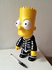 Bart Simpson The Simpsons Qee Collectible Vinyl Halloween Skeleton
