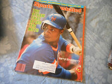 Darryl Strawberry Covers Sports Illustrated Magazine April 1984