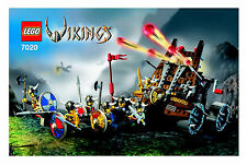 (Instructions) for LEGO 7020 - Vikings - Heavy Artillery Wagon - MANUAL ONLY