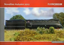Fleischmann Autumn 2012 Novelties Booklet