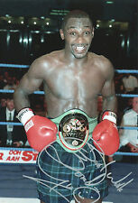 HEROL BOMBER GRAHAM Signed In Person 12x8 Photo Proof World BOXING Champion  COA