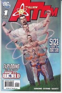 """1st 12 All New Atom Issues - DC Comics 2006 """"Great Series With Great Covers"""""""