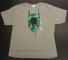 Marc Ecko Unltd Batman Superhero Mashup Camo Graffiti T-Shirt Size XXL 2XL NEW