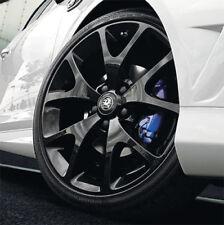 """Vauxhall Corsa D 18 """"VXR Ruote in Lega Set di 4 in nero vera 07-15 NUOVO"""