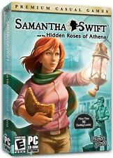 SAMANTHA SWIFT and THE HIDDEN ROSES OF ATHENA Hidden Object PC Game CD-ROM NEW