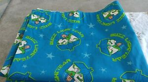"""VINTAGE Disney """"BUZZ LIGHTYEAR"""" Toy Story Curtains 64""""W X 54""""L. NEVER USED"""