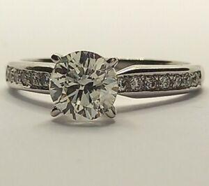 1ct Diamond Engagement Ring/Diamond Shoulders