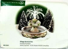Department 56 Village Frosted Fountain 52831