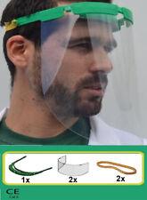 Pantalla protectora proteccion facial mascara Reusable Diadema Goma + Recambios
