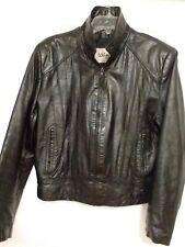 Wilsons Men's Leather Biker Jacket Circa 1990 S 38