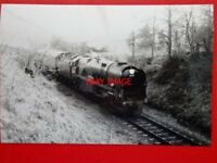 PHOTO  SR WEST COUNTRY LOCO NO 34027 TAW VALLEY