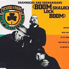 House of Pain Shamrocks and shenanigans (incl. 5 versions, 1992) [Maxi-CD]