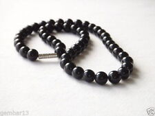 Handmade Onyx Beaded Costume Necklaces & Pendants