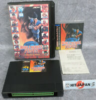 WORLD HEROES PERFECT NEO GEO AES FREE SHIPPING  Neogeo SNK JAPAN Game Ref/1820