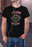 FIVE FINGER DEATH PUNCH Men T-shirt Heavy Metal Band Shirt FFDP Shirt 5FDP Tee