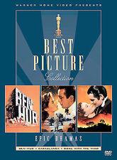 BEN-HUR/ GONE WITH THE WIND/ CASABLANCA   (DVD, 2003, 3-Disc Set)