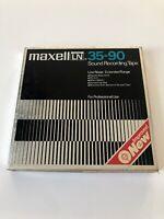 Maxell UD 35-90 Sound Recording Hi Output Tape Maxwell 7 1/2 - Van Halen READ