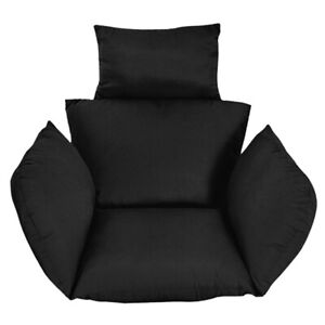Hanging Egg Chair Swing Chair Thick Cushion Sofa Seat Cushion Padded Pad Cover