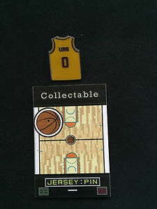 Cleveland Cavaliers Kevin Love lapel pin-Collectable WINE & GOLD NATION-Gift
