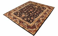 Mid Century Deco Traditional European Style Wool Blend Rectangle Area Rug Carpet