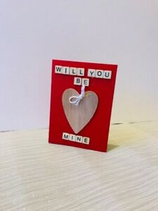 Valentine's Day card, be mine, boyfriend/girlfriend card, will you be mine, card