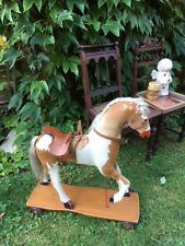 Rarität Pferd antik Pony Fell, Schaukelpferd
