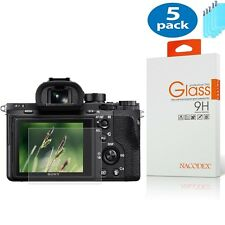 [5x] Nacodex For Sony RX100 A7M2 A7R A7R2 Tempered Glass Screen Protector