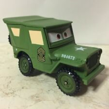 Disney Pixar Cars Series One DISNEY STORE Deluxe Size SARGE - NEW Loose
