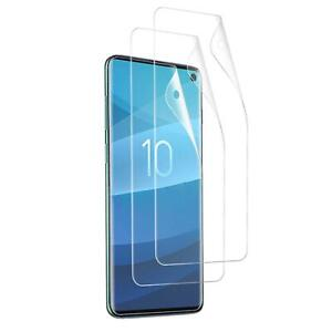 2x Foil for Samsung Galaxy S10 Plus S10e Display Protective Foil Glass Clear