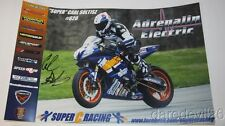2015 Carl Soltisz signed Yamaha YZF-R6 600 Daytona 200 ASRA poster